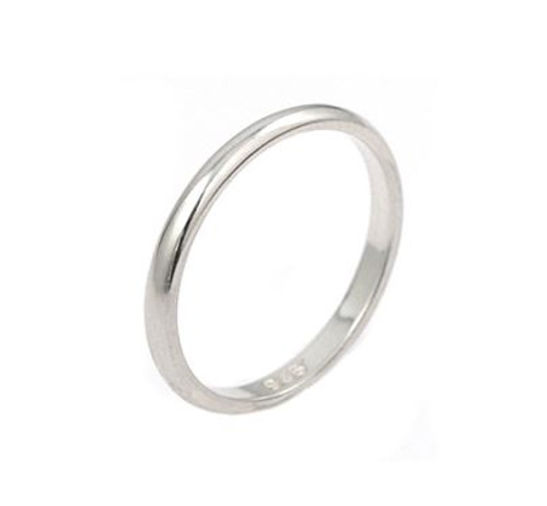 2MM PLAIN BAND ( SZ 5-10 )