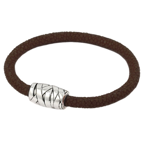 STINGRAY BROWN STRING DESIGN BRACELET