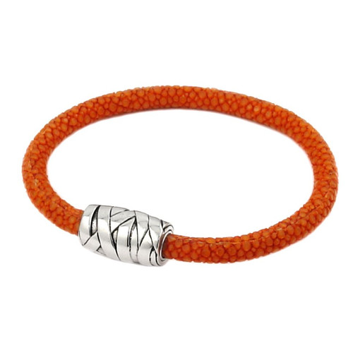 STINGRAY ORANGE STRING DESIGN BRACELET