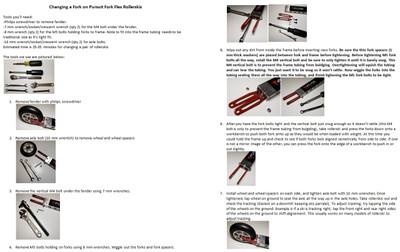 Pursuit Fork Flex Replacement Forks (set of 2)