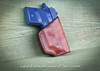 Clip holster for small to medium size guns.