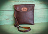Bison Leather Crossbody Bag  (style 2)