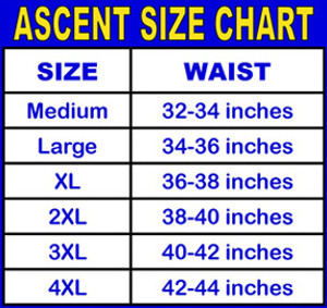 Ascent Baggy Cycling Shorts Navy Men's - Nylon Outershorts, Padded Lycra Innershorts, Choice of Size