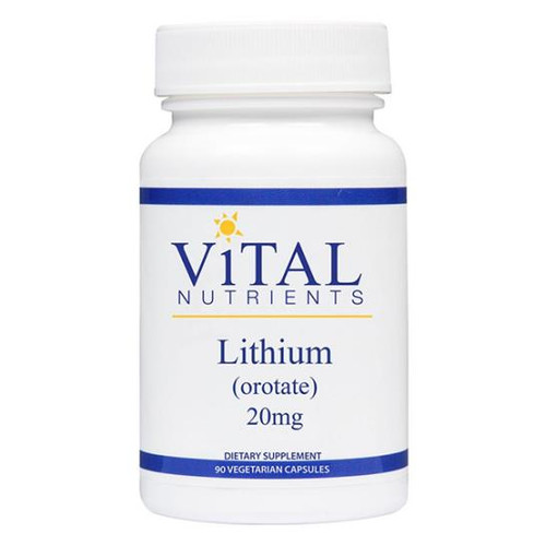 Lithium (orotate) 20 mg 60 vcaps