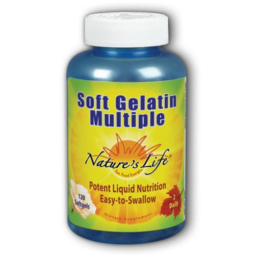 Soft Gelatin Multiple 120 softgels