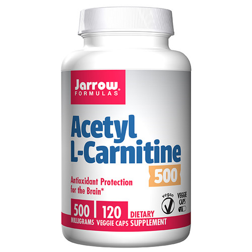 Acetyl L-Carnitine 500 mg 120 caps