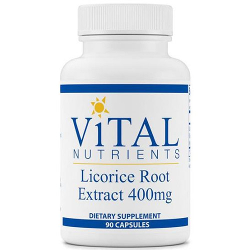 Licorice Root Ext 400 mg 90 caps