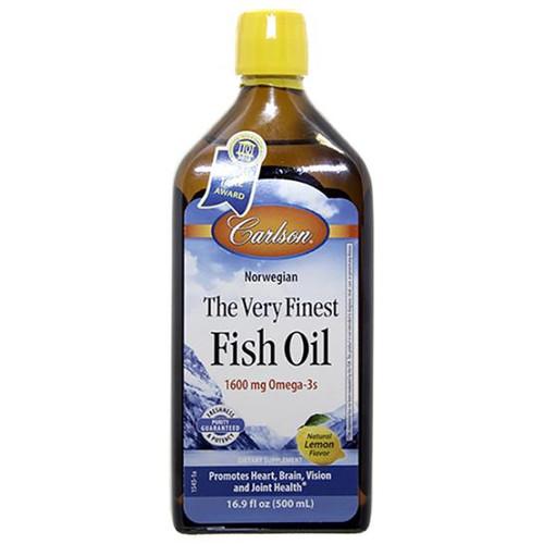 Finest Fish Oil 500 ml Lemon