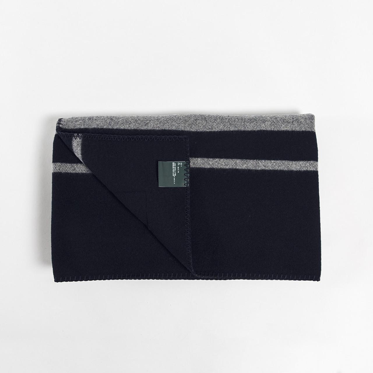 Woolrich Charcoal Stripe Blanket