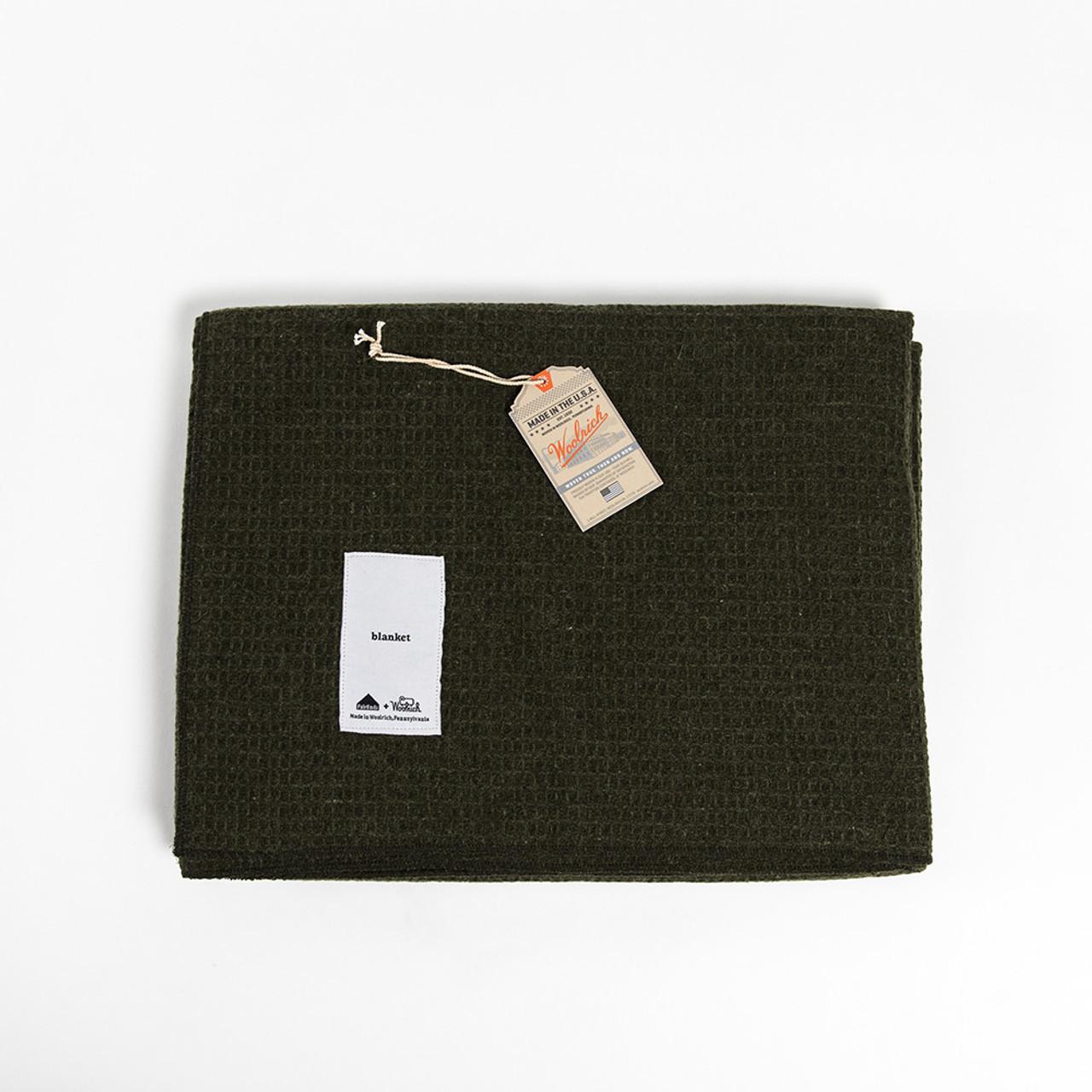 Woolrich Lichen Blanket
