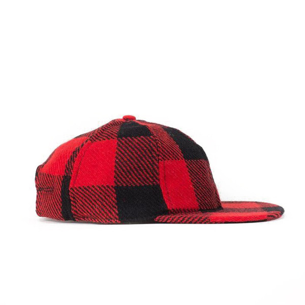 Buffalo Check Plaid Ball Cap