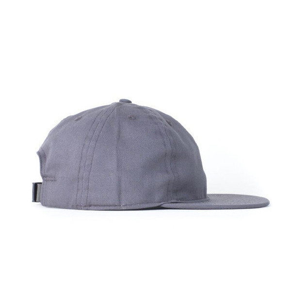 Charcoal Solid Twill Ball Cap