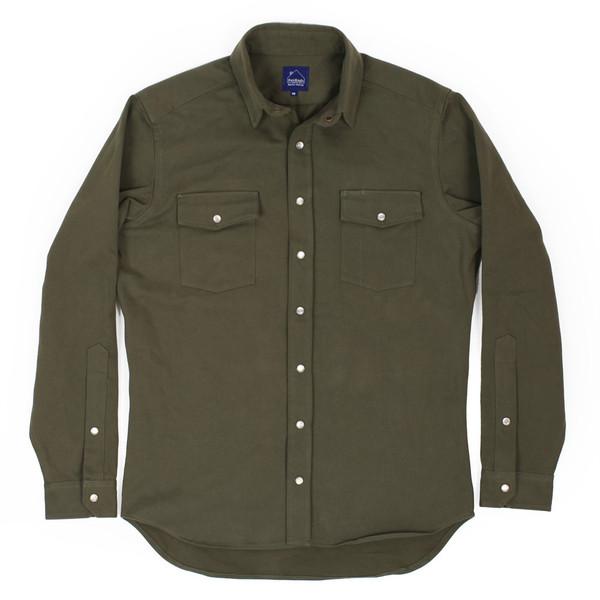Olive Twill Glacier Shirt