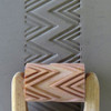 RL-005 Two rows of Triangles - 6 cm Roller