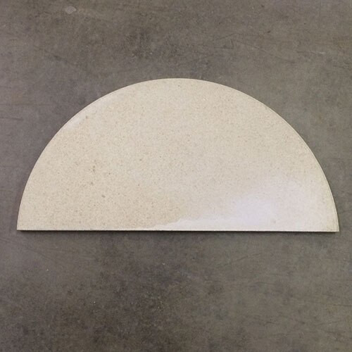 "ROUND 10"" High Alumina Half Kiln Shelf - 1/2"" Thick"