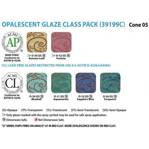 O Series Set Of 6 Class Pack