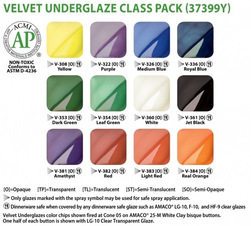 V Series Set Of 12 Class Pack