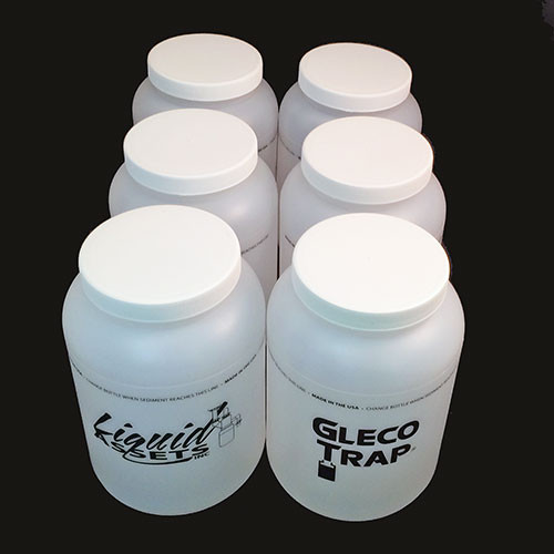 Gleco 64 oz replacement bottles - case of 6