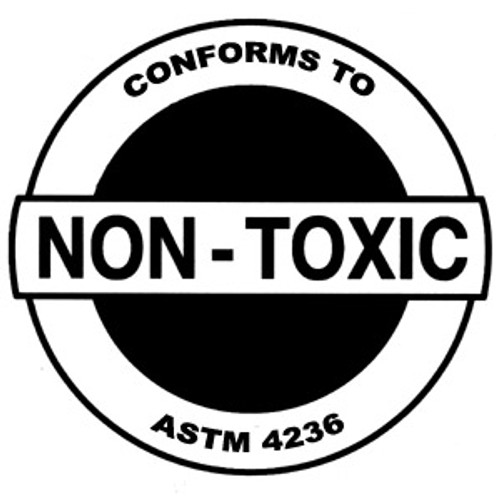 Certified Non-Toxic in moist form