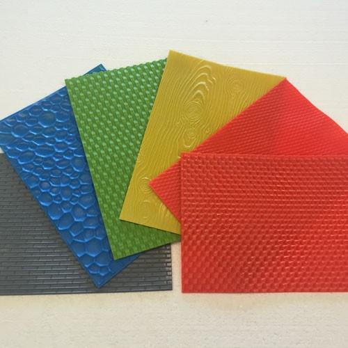8 x 12 set of 6 plastic mats