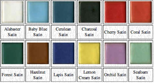 SS5 Sample Set #5 -  Satin colors in 4 ounce jars