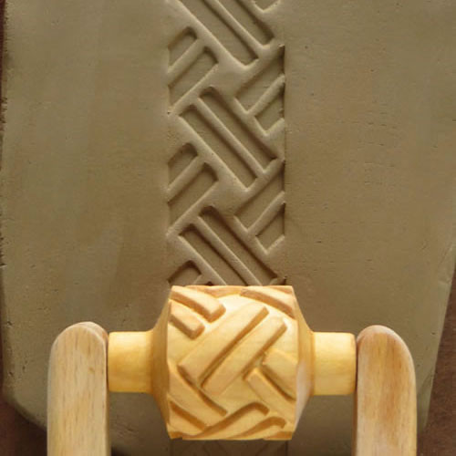 RM-019 Thick Basketweave - 3 cm Roller