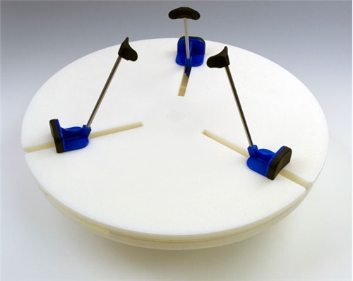Giffin Grip Model 10 Counterclockwise with blue sliders