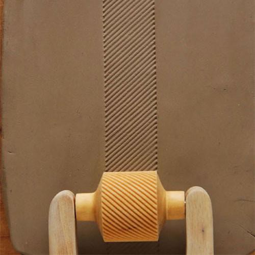 RM-034 Diagonal Lines - 3 cm Roller