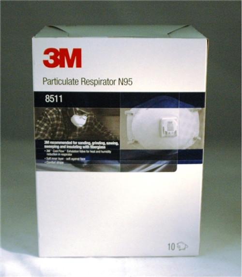 3M Dust Mask Model 8511 - Box of 10