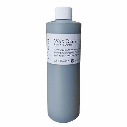 16 ounce black wax resist from AFTOSA