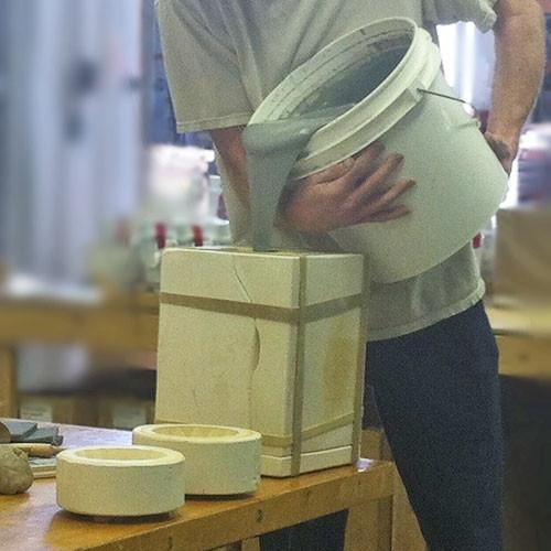 Low-Fire Bill's Artware White  - 2 GALLON BOX