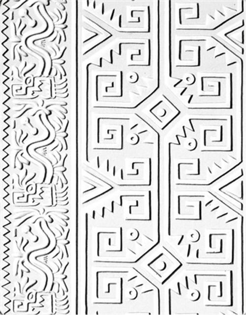 Pre-Columbian Multi-Cultural Texture Mold