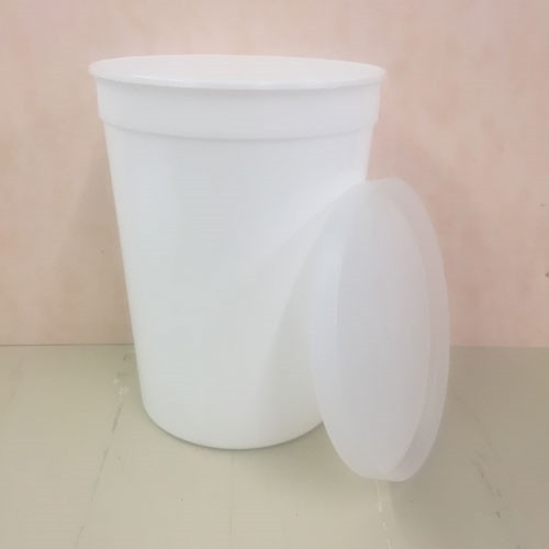 87 ounce plastic CC Container with Lid
