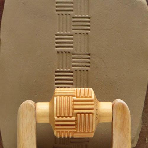 RM-014 Basket Weave - 3 cm Roller