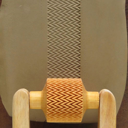 RM-015 Loose ZigZag - 3 cm Roller