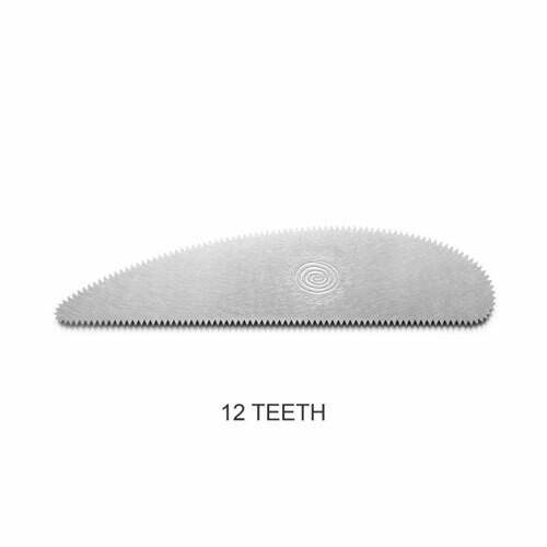 Long Scraper Rib - 12 teeth