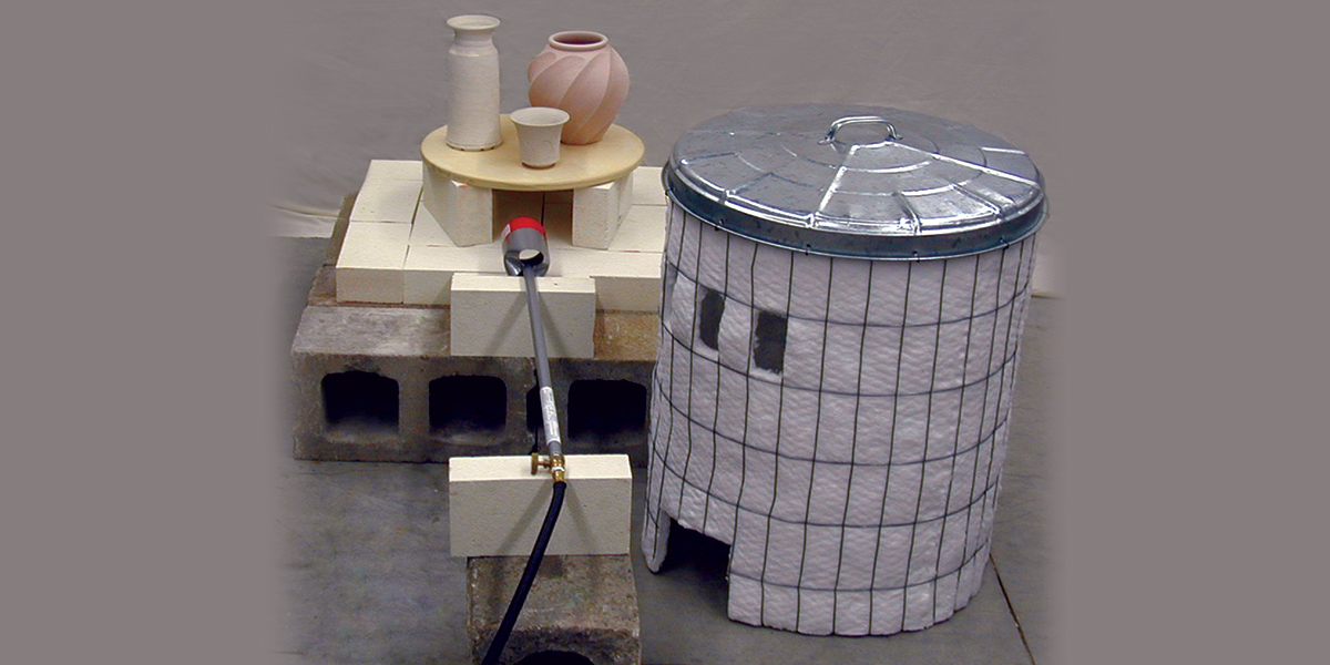 Brackers Portable Fiber Raku Kiln