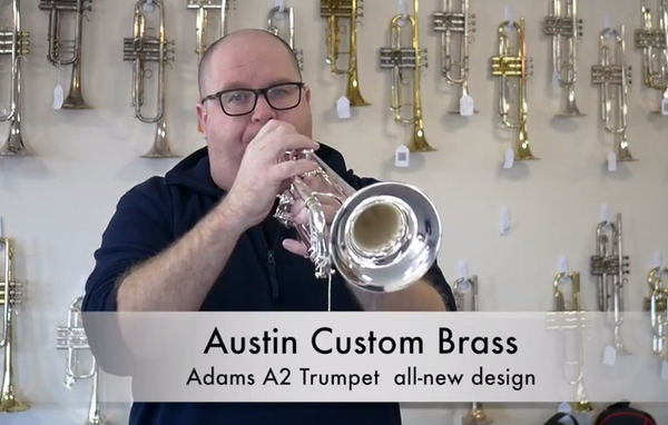 Hear a clip of the all-new Adams A2  Trumpet for sale at ACB!