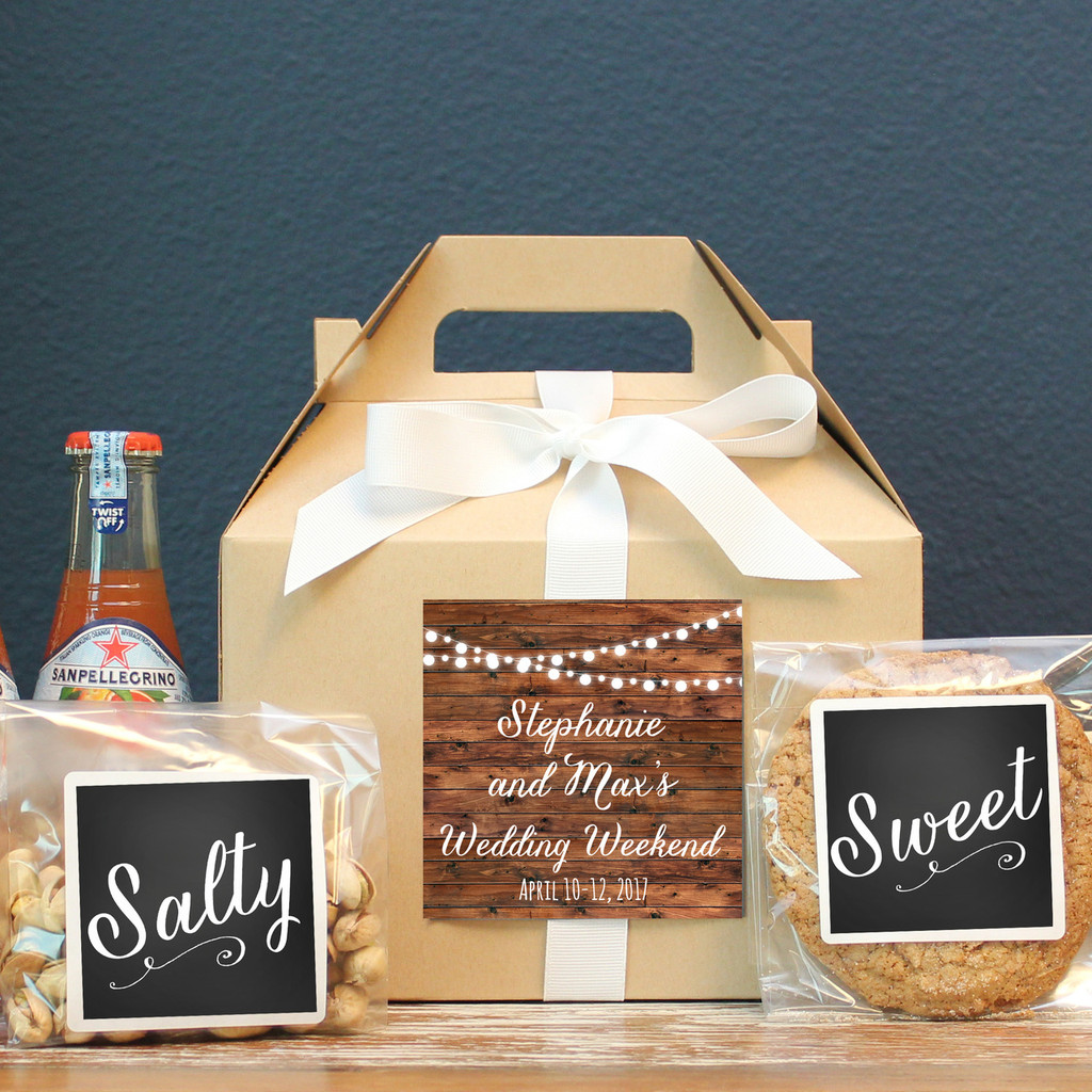 Wedding Welcome Boxes - String Lights
