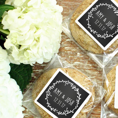 Cellophane Favor Bags - Laurel Chalkboard Label Design