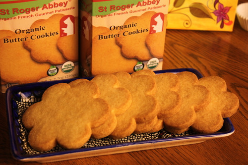 Delicous organic butter cookies to enjoy anytime!