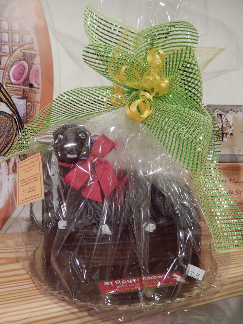 EASTER CHOCOLATE LAMB
