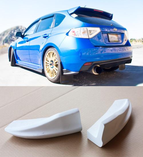 2008-2010 Subaru Impreza WRX STi CS Front Bumper Lip ...