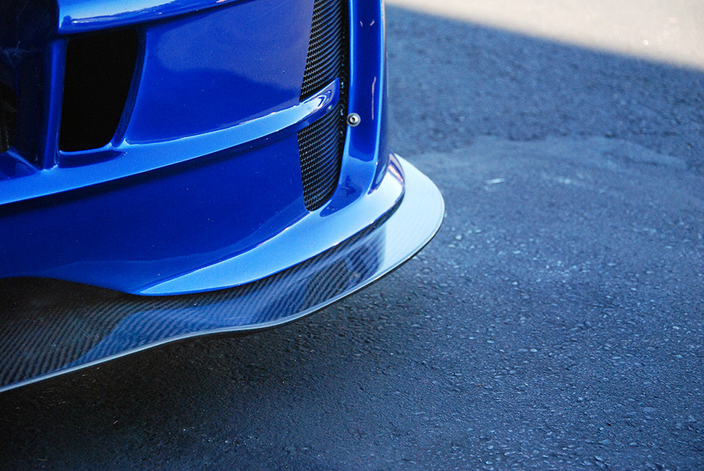 #80718 - 818 Carbon Fiber Front Splitter