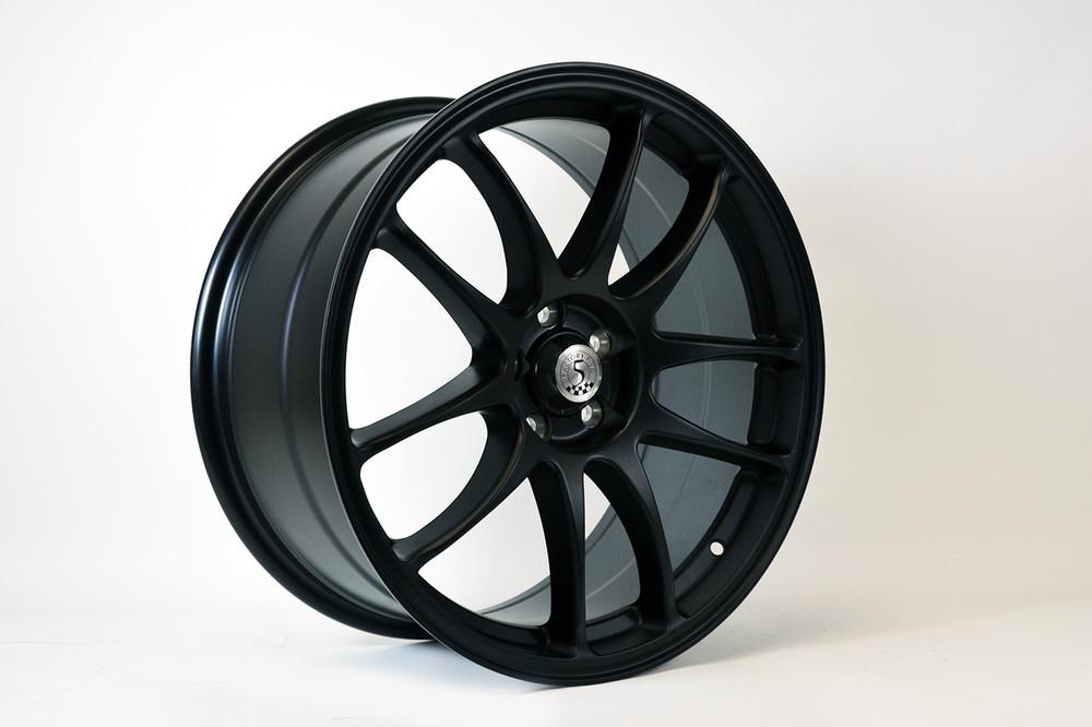 #80831 - Factory Five 818 Wheels - Black