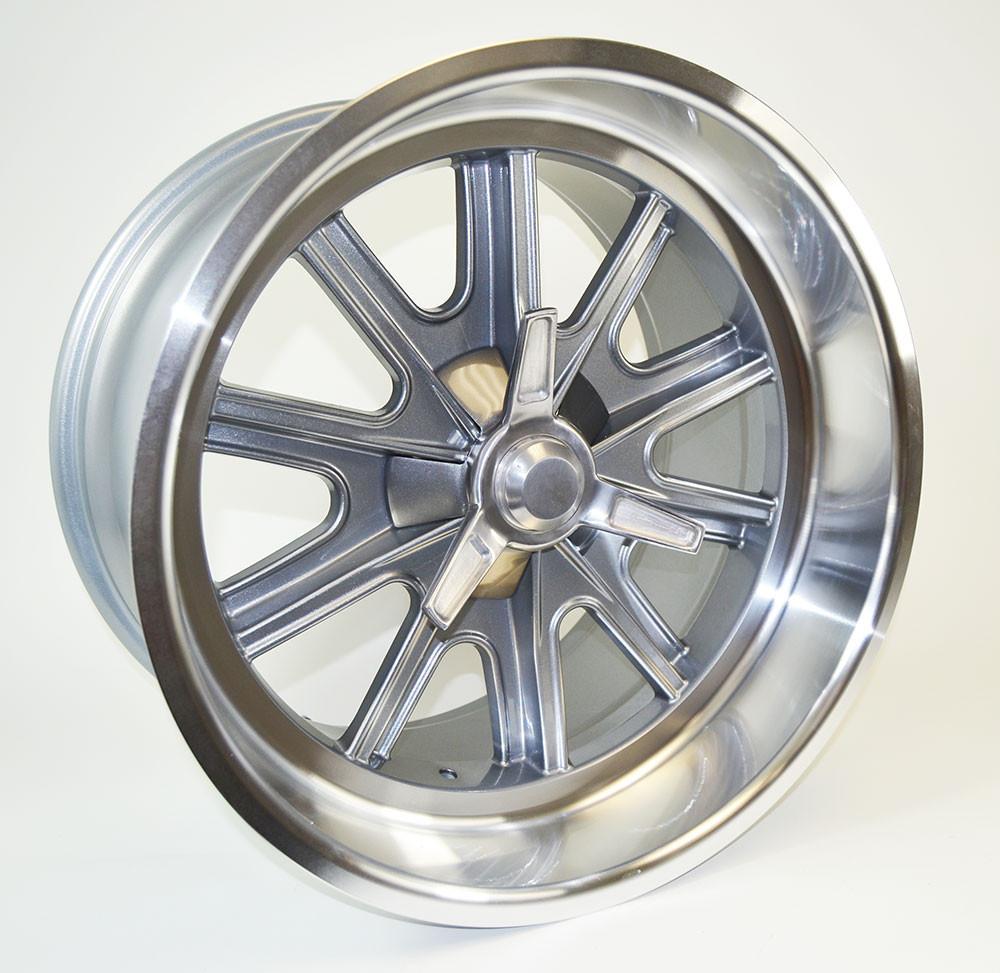 """18"""" x 11"""" Halibrand Replica Wheel"""