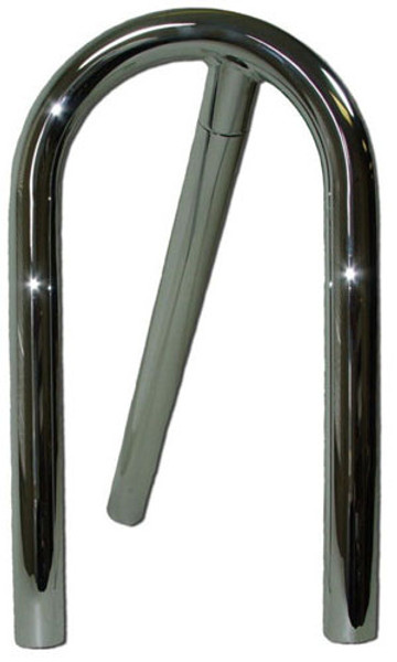 "#12551 - 2"" Passenger Chrome Roll Bar"