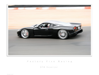 #14881 - Gen 1 GTM Supercar Lithograph, Serial Numbered Limited 1 of 499
