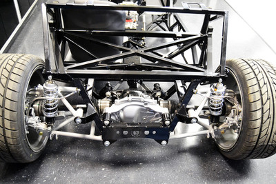 The Factory Five 2015 IRS was tested/proven in the '33 Hot Rod chassis.