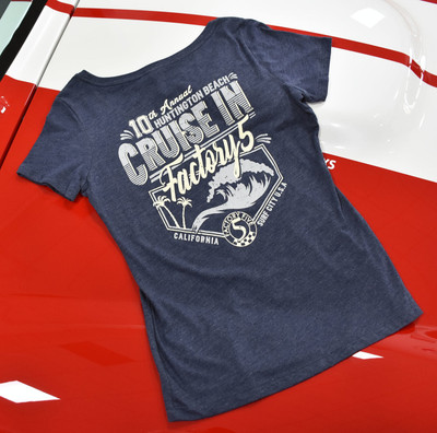 2017 Factory Five Huntington Beach Cruise-In Women's T-Shirt